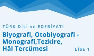 9. Sınıf Türk Dili ve Edebiyatı 9.Bölüm